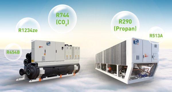 Kaltwassersätze mit Kältemittel R290 (Propan)